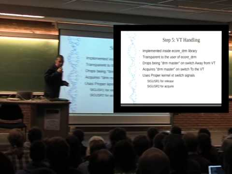 FOSDEM 2014 - Enlightenment As Standalone Wayland Compositor