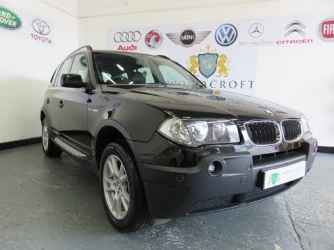 BMW X3 2.0 D SE 2005 - YouTube
