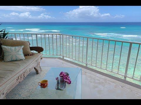 Waikiki Gold Coast Penthouse With Panoramic Ocean Views