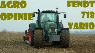 Agro Opinie: Fendt 718 Vario w pracy