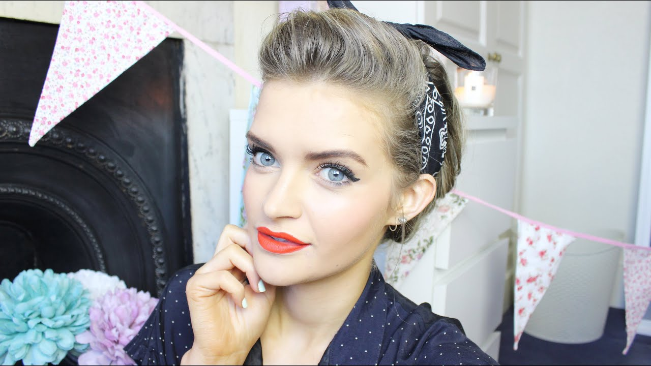 1940's Makeup Tutorial | MegsBoutique AD - YouTube