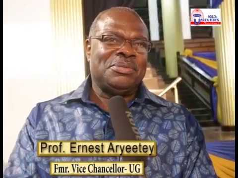 Former University of Ghana VCs share insightful thought on 2017 Inaugural Lecture