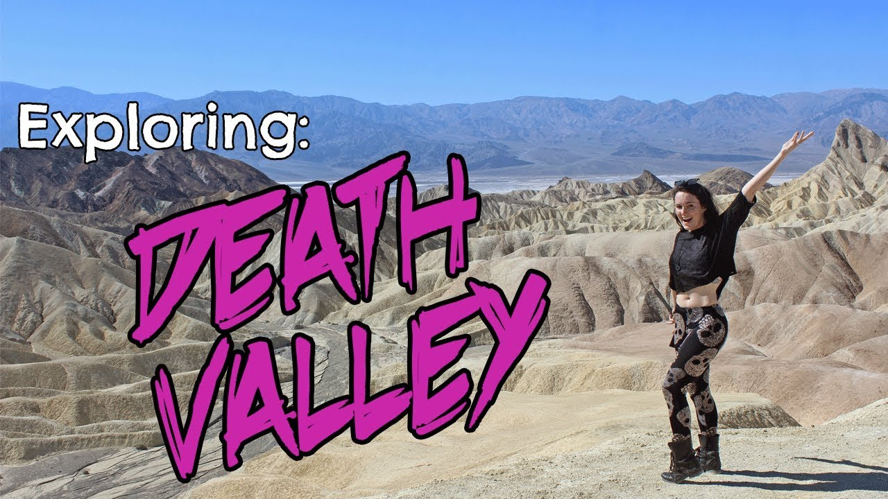 Visiting Death Valley - Attractions Map + Trip Planning Guide