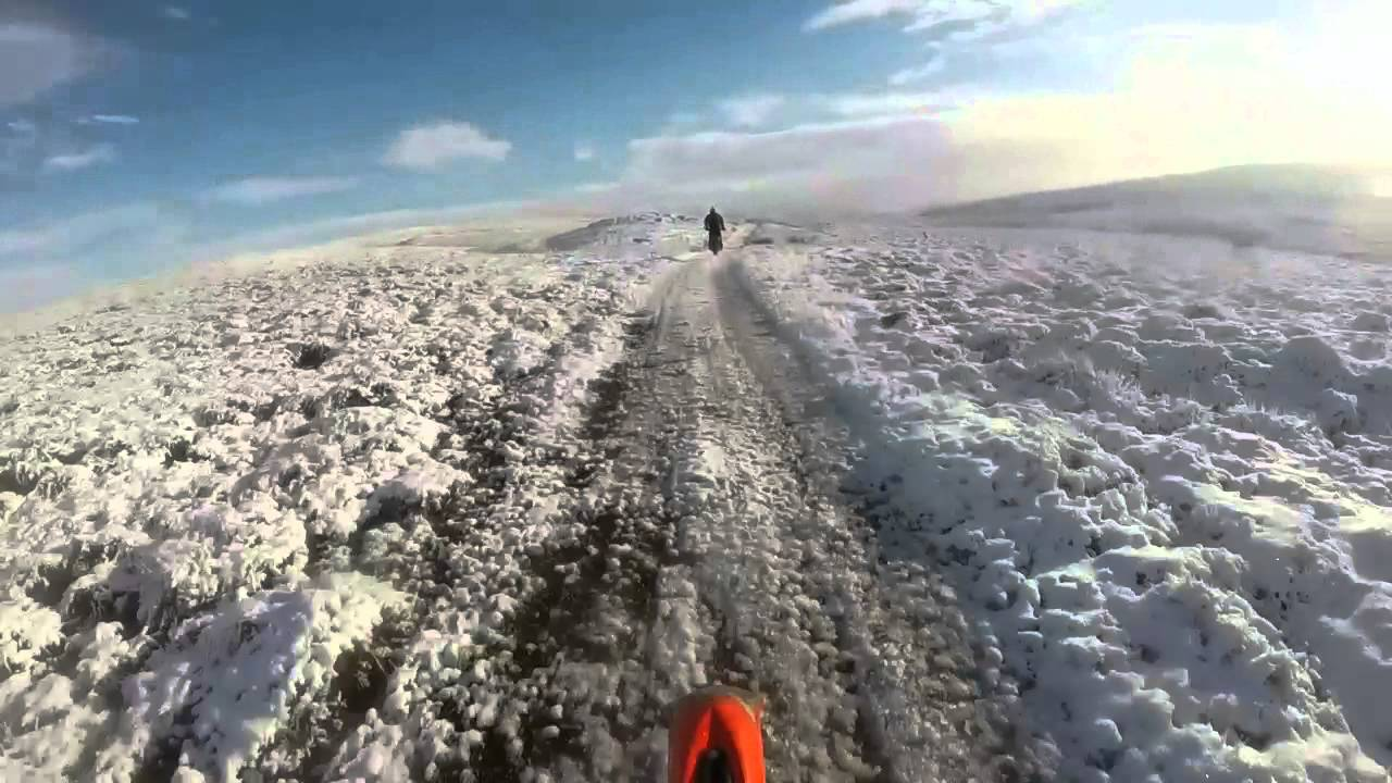 Download Salter Fell green lane, December 2014, KTM 200 EXC and YAMAHA WR250F