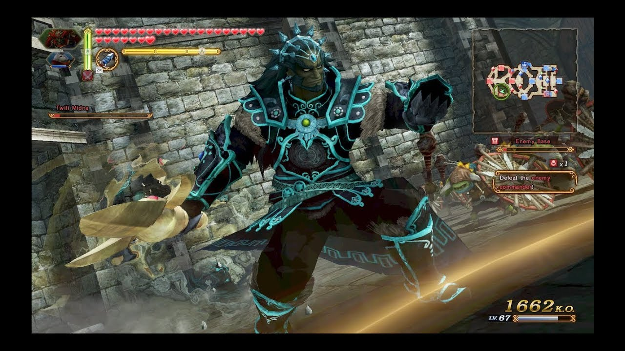 Hyrule Warriors Definitive Edition The Demon King Ganondorf Gameplay Defeat The Dragon Youtube