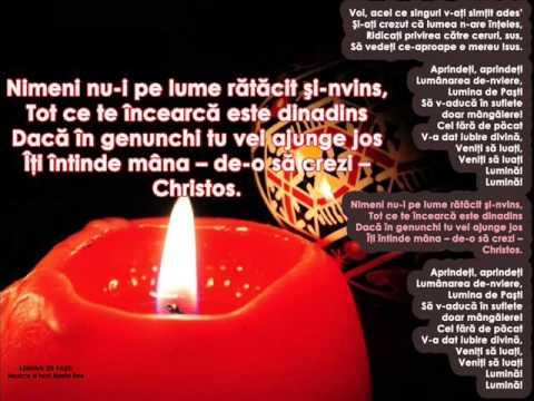 LUMINA DE PAŞTI – Cantece pentru copii in limba romana