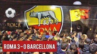 TIFOSI IN DELIRIO A TRIGORIA • Roma - Barcellona [Sickwolf, Asr music, Federico Marconi]