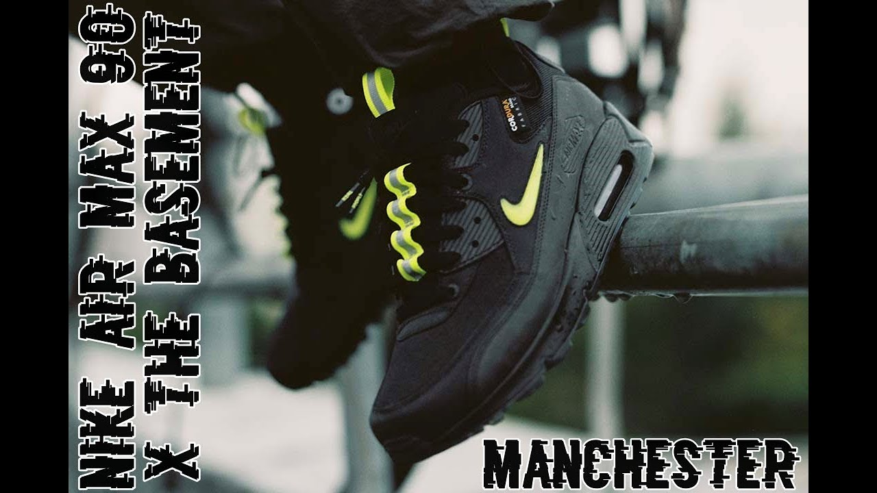 Nike Air Max 90 x The Basement | Manchester | Unboxing First look