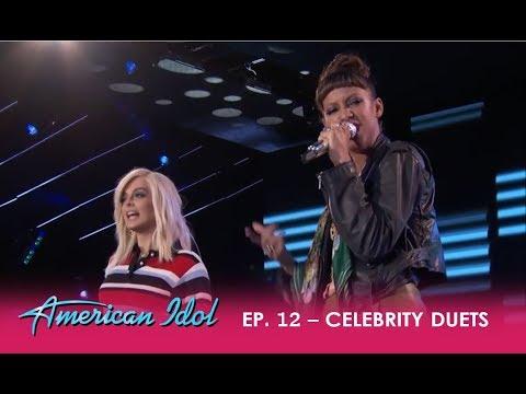 "Amelia Harris & Bebe Rexha Hip-hop Duet ""Me, Myself & I"" By G-Eazy and Rexha  | American Idol 2018"