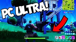PLAYING FORTNITE ON ULTRA SETTINGS! How to get more FPS in FORTNITE!!! (Fortnite Battle Royale)