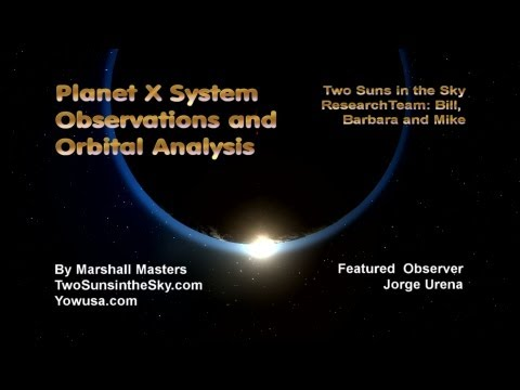 Planet X System Observations and Orbital Analysis