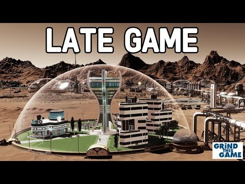 Surviving Mars - $1 TRILLION, 2000 POPULATION, SOL 430 - Late Game Guide