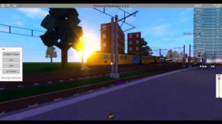 Trains at Roslyn 2017 Terminal railways Roblox