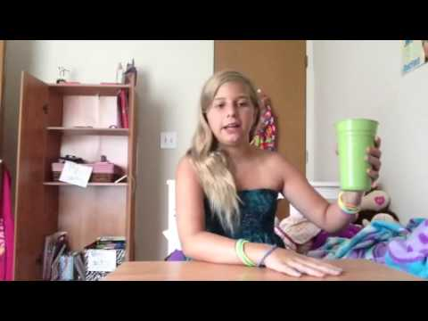 Leigha Riggs how to do the cup song