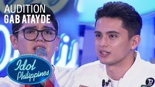 Gab Atayde - Unwell | Idol Philippines Auditions 2019