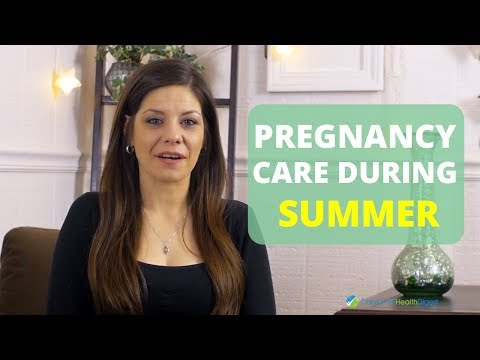Pregnancy in Summer: How to Cope Up With Hot Weather