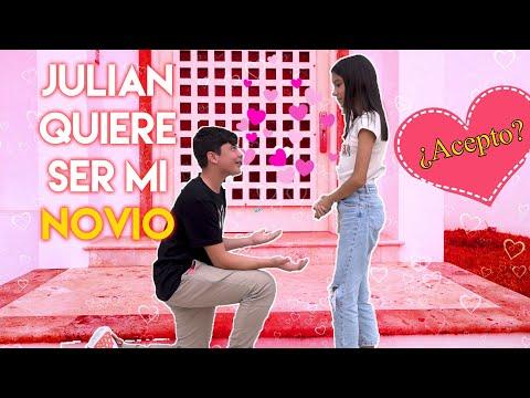 JULIAN ME  PIDE SER SU NOVIA ¿ACEPTO? Especial San Valentín   TV Ana Emilia