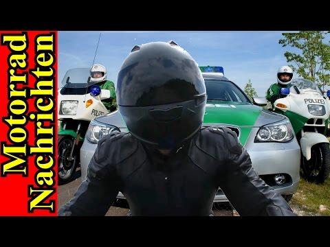 FLUCHT vor der POLIZEI mit 250 km/h | STINKEFINGER auf Nummernschild erlaubt? | Motorrad Nachrichten