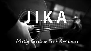 Jika - Melly Goeslaw Feat Ari Lasso Acoustic Karaoke