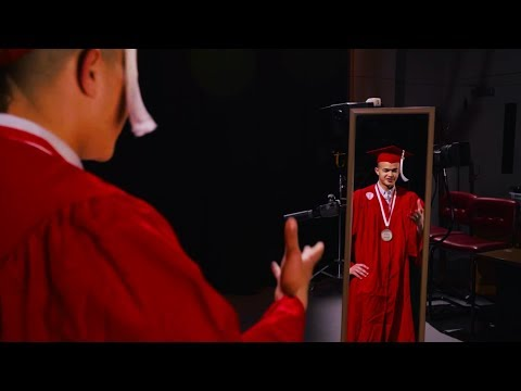 Wearing the Red Robes — NC State Graduation 2018 — Justin Davis