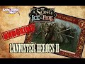 A Song Of Ice And Fire - Lannister Heroes 2 - Unboxing