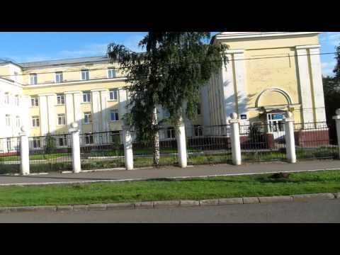 Izhevsk Russia - View from a tram
