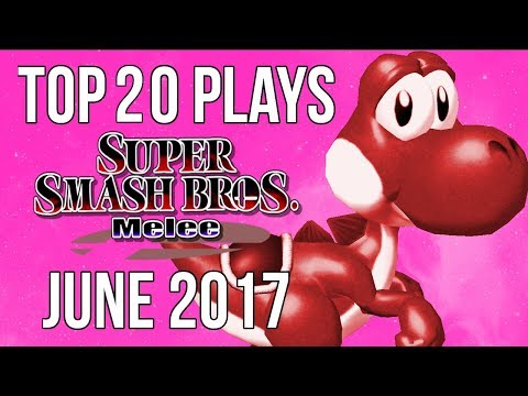 Top 20 SSBM Plays of June 2017 - Super Smash Bros  Melee