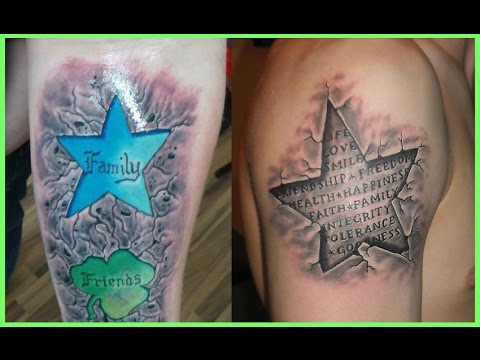 Los Mejores Tatuajes De Estrellas En 3d Youtube