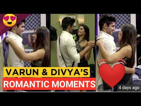 Varun and Divya ROMANTIC❤️ moments || Varun kisses divya