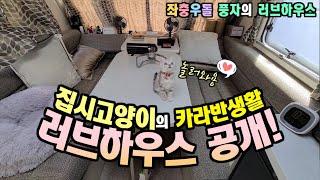 [집시고양이] 자충우돌 카라반생활 풍자의 러브하우스공개…