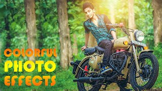Photoshop Tutorials | Photo Effects ( colorful light )