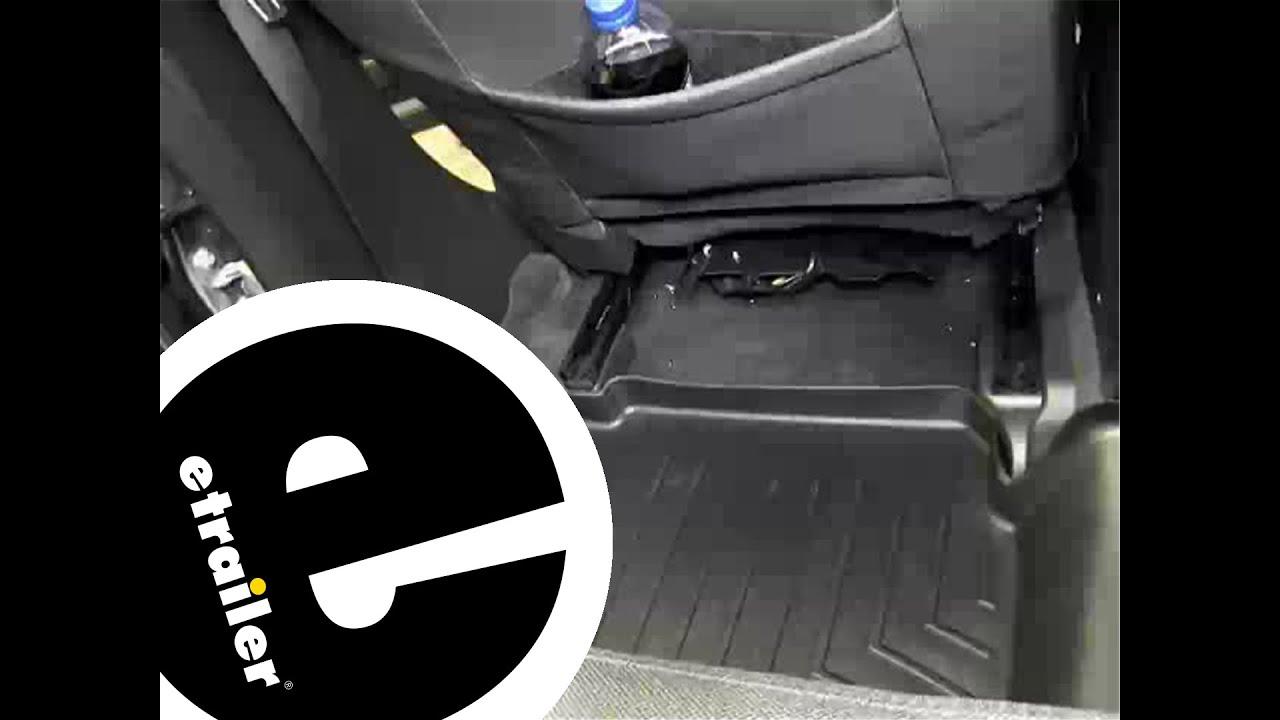 Tan WeatherTech Custom Fit Front FloorLiner for Ford Focus