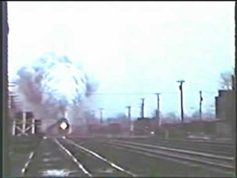 High speed steam locomotive 614T barnstorming St Albans WV