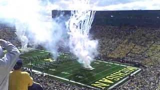 Michigan Stadium Flyover:  B-25