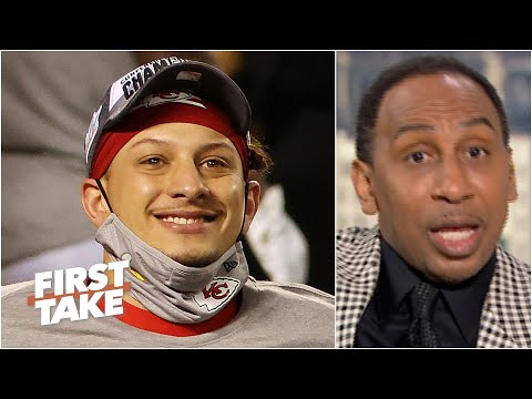 Stephen A. reacts to Patrick Mahomes leading the Chiefs to a second straight Super Bowl | First Take