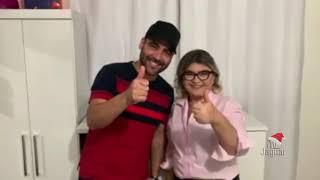 Prefeita Iris Gadelha de Alto Santo, anuncia a programação de natal, com show de Felipão e Michele Andrade