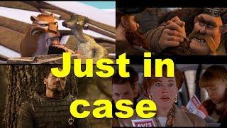 Английские фразы: Just in case (примеры из фильмов и сериалов)
