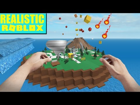 REALISTIC ROBLOX - SURVIVE THE ROBLOX DISASTER - SURVIVING AN EARTHQUAKE, METEORS, AND A BLIZZARD!