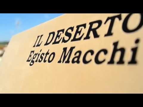 Egisto Macchi IL DESERTO Deluxe Edition 2LP Velvet Gatefold Cover