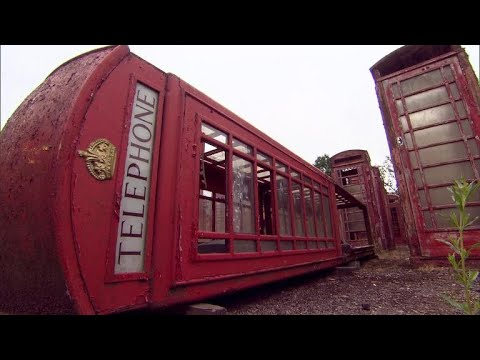 Old phone booths in England getting a new lease on life