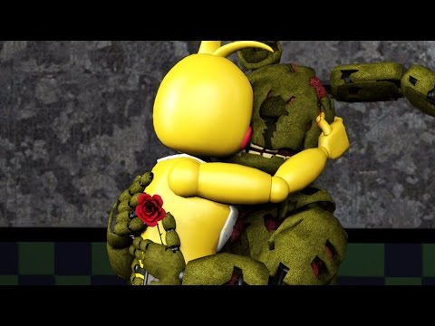 Five Nights At Freddy's LOVE Animations Compilation - SFM ANIMATED FNAF