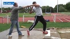 Gestes de l'athlétisme - le lancer du poids