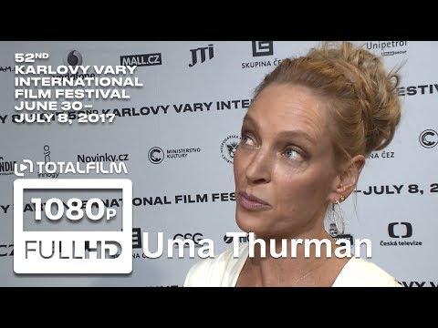52. MFF Karlovy Vary (2017) Uma Thurman rozhovor