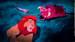 The Lion King - Simba, Timon and Pumbaa Talk -