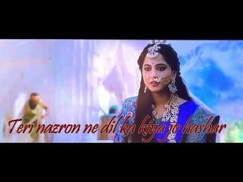 Bahubali 2 Romantic Scene Whatsapp Status @ Ankho Me Teri Ajab Si Lyrics