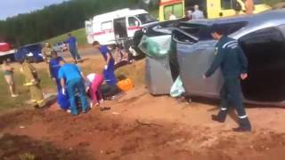 В Башкирии невеста погибла в ДТП
