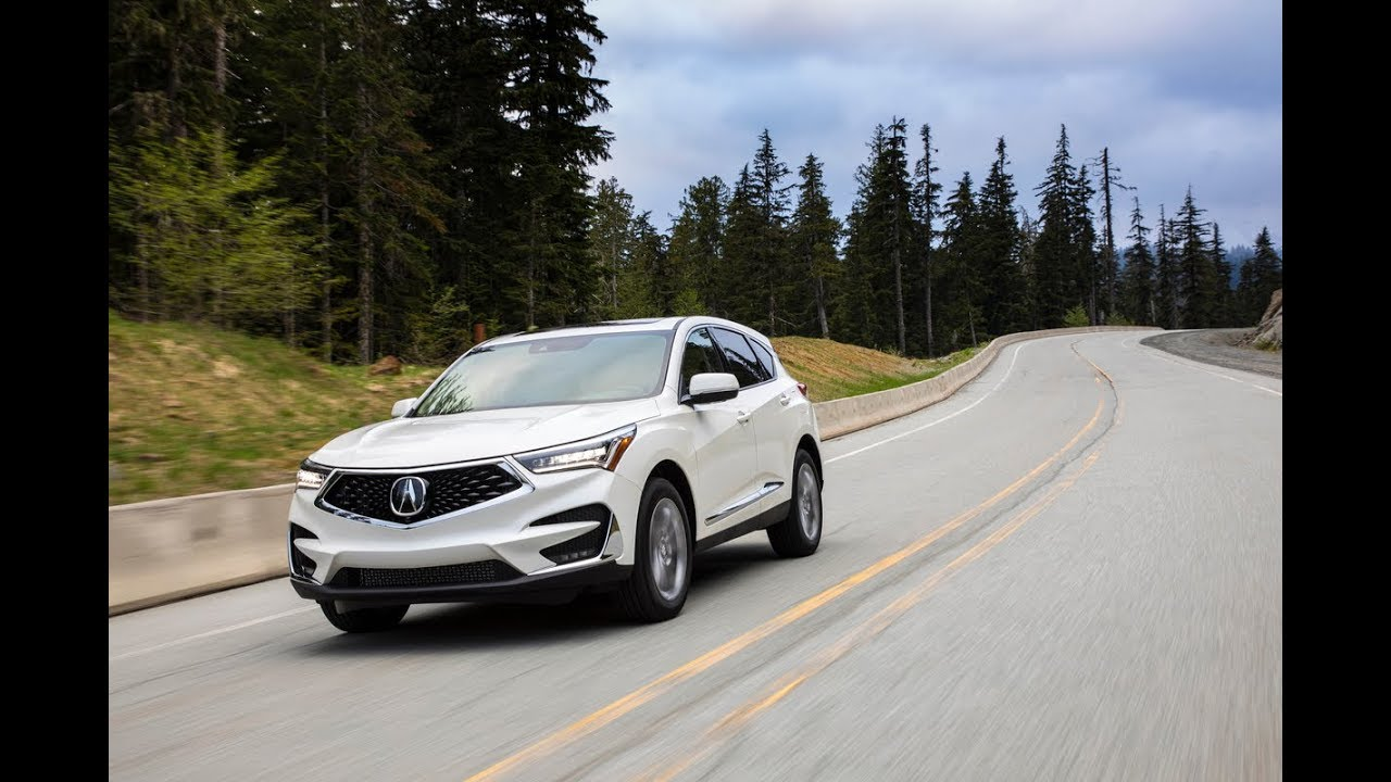 2019 Acura Rdx First Drive Review Youtube