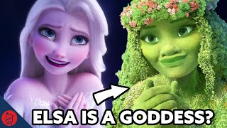 Elsa Is A Goddess [Frozen Theory]