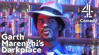 Richard Ayoade Raps In Matt Berry's 80s Synth Song 'one Track Lover'  Garth Marenghi's Darkplace