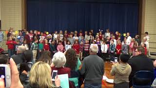 Toth Elementary Christmas Program - Second Grade